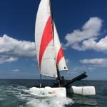 Topaz 16 au LYC (Luc Yacht Club, école de voile de Luc sur mer)